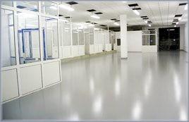 Aplicare vopsea epoxidica in zona birouri