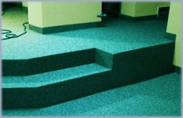 Aplicare covor de cuart epoxidic decorativ