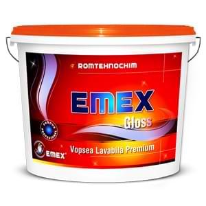 Vopsea emulsionata lucioasa cu lavabilitate superioara