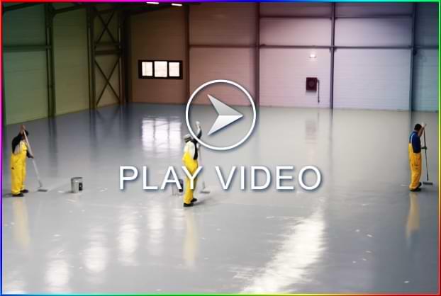 Video aplicare vopsea epoxidica beton